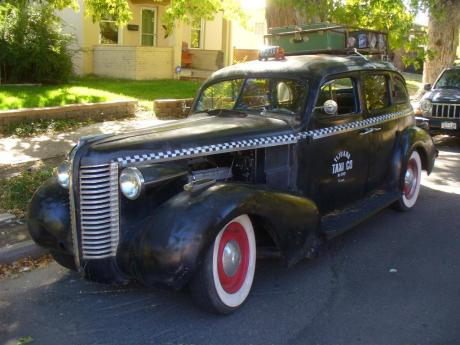 Tijuana Taxi rat rod