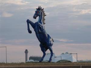 DIA Blue Mustang August 11 2012