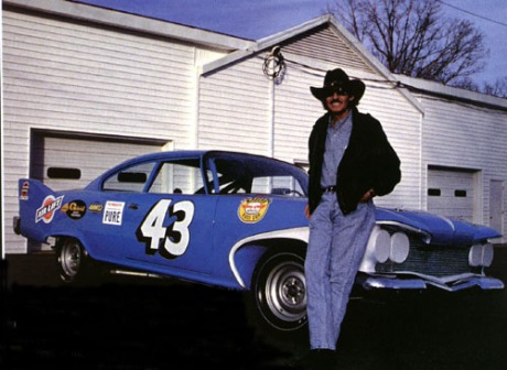 Richard Petty with #43 1960 Plymouth