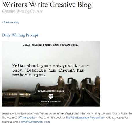 Writers Write Daily Prompt 2-21-14