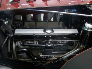 1930 Cadillac V-16 Underhood View