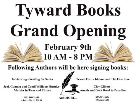 Grand Opening Tyward Books 09 Feb 2015
