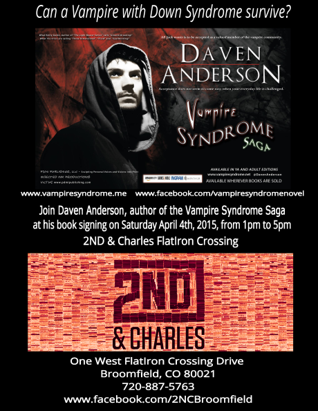 2nd and Charles Signing Flyer Apr 2015 Negative