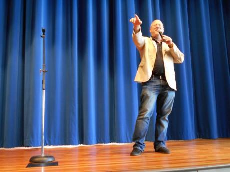 Joel Eisenberg speaking