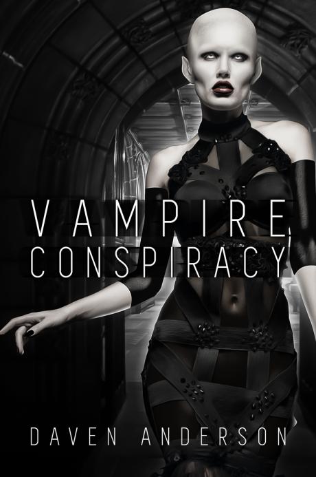Dean Vampire Conspiracy Cover